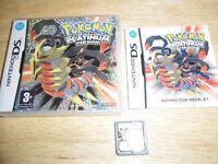 Nintendo DS Game – Pokemon Platinum Version