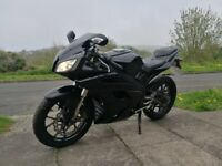 Motorhispania RX125R - Has Yamaha YZF-R125 Engine 16BHP Leaner Legal