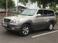2007 HYUNDAI TERRACAN 2.9 DIESEL AUTOMATIC * LEATHER * 1 OWNER * LONG MOT * PART EX * DELIVERY * 4X4