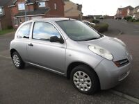 NISSAN MICRA 1.OL 2003 (ONLY 84000 MILES) MOT MAY 2017 LOW INS & TAX AS FIESTA CORSA CLIO KA PUNTO