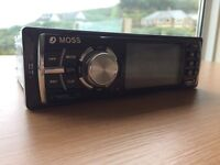 Car Radio, Moss Ice4 2015 car Stereo. Almost new full working order