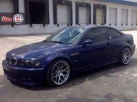 "BRAND NEW 4X 18"" ALLOYS WHEELS TO FIT BMW CS E46 M3 E90 E91 E92 E93 MESH DTM F10 F12 M SPORT"