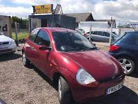 All major credit debit cards accepted Ford KA 1.3 Luxury Limited Edition 3dr, 2003 . 64,456 miles
