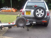 1999 LAND ROVER FREE LANDER AND CAR RECOVERY DOLLY CAN SELL SEPARATELY PX ??