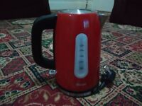 Swan stainless steel kettle and toastery