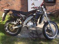 XPS 125 CT with XTR/WRX YAMAHA ENGINE. Motocross Ktm R1 R125 Cbr r6 ybf Kawasaki ninja Peugeot