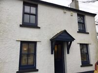 Lovely unfurnished 3 double bedroomed end of terrace cottage in Landrake.. unexpectedly available.