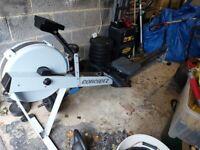 Concept 2 PM3 rowing machine