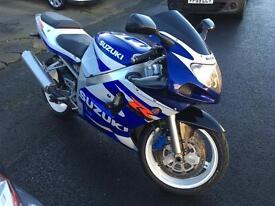 2001 Suzuki GSXR 600cc