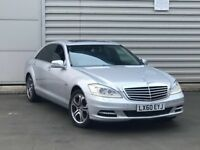2010 60REG Mercedes-Benz S Class 3.0 S350 CDI BlueEFFICIENCY L Limousine 7G-Tronic 4dr***FACE LIFT**