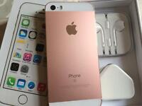 Iphone 5s 16gb metallic rose gold and white (t-mobile orange virgin EE )