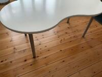 IKEA VIKA Table/desk Unusual Figure Of Eight Design
