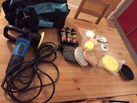 DAS-6 Pro Dual Action Machine Polisher Kit - Chemical Guys pads Sonus polish (Clean Your Car kit)