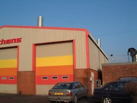 Modern industrial unit on Burrington Way in Plymouth