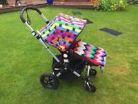 Bugaboo Cameleon 3 buggy/pram with Missoni cover