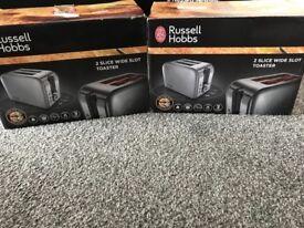 Russel Hobbs toasters