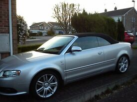 Audi S4 Covertible 4.2l V8, very low mileage, FSH, long MOT, good cond. - REDUCED!