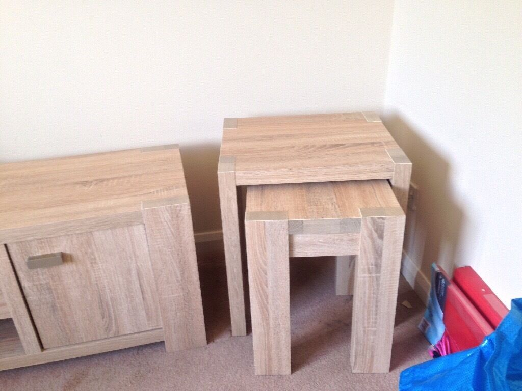 Next Nest Of Tables Corsica Range Like New 2 Tables In