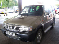IMMACULATE LOW MILAGE 2005 TERRANO II 7 SEATER NEW MOT TWO KEYS WELL EQUIPTED £2895
