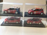Scale model rally cars wanted - 1:43 scale diecast