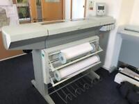Océ TCS 500 Plotter with Scanner and Server