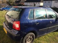 52 plate VW POLO good runner for sale