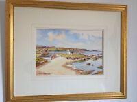 **SOLD**Local Art-SAM McLARNON Watercolour....Portballintrae