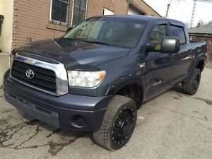 2008 Toyota Tundra 5.7 Limited Crew Max Leather Lift Wide Body