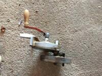 Vintage hand crank grinders