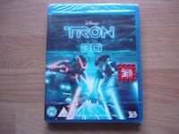 Disney Tron 3D Blu Ray DVD