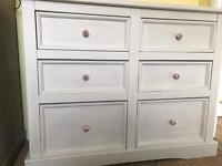 Up Cycled Solid Pine Chest of Drawers (Can Deliver)