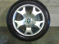 ALLOYS X 4 OF 19 INCH GENUINE BMW X5 4X4 FULLY POWDERCOATED INA STUNNING SHADOWCHROME VERY NICE JOB