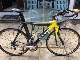 Scott plasma carbon tt bike