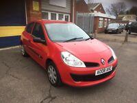 2008 Renault Clio 1.1 3 door 12 months mot/3 months warranty