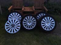 VW Passat Alloy Wheels 5x112