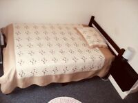 Double room for a guy for single occupancy. all bills included. Close to Oval
