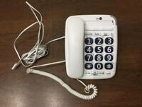 BT Home Phone with Big buttons