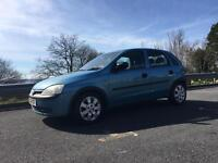 Vauxhall corsa 1.2 - low mileage