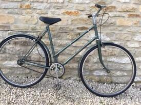 SERVICED 1980s VINTAGE SINGLE SPEED HERCULES BIKE - FREE DELIVERY TO OXFORD!