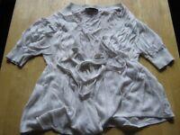 Warehouse 10 - 38 short-sleeved women's top white