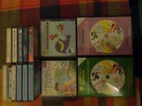 Children's job lot CDs tapes etc.