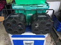 KAM LED Colourbeam 6 DMX High Power LED Effect Disco DJ Light for sale PAIR