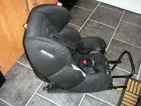 Recaro Childs Rear Facing Car Safety Seat