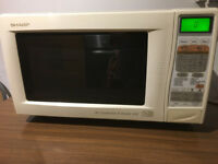 Sharp R-872M 900W Microwave Oven with top and bottom Grills and Convection