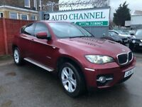 BMW X6 3.0 30d Auto xDrive 5dr£12,995 p/x welcome FREE WARRANTY. NEW MOT