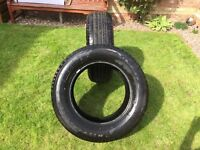 AUTOGRIP 4 x 4 TYRES 245/65R17 (TWO TYRES)