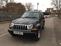 Jeep Cherokee 2.8 crdi, automatic, leather, sunroof, 12 months MOT low mileage