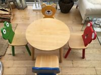 John Crane Nursery Furniture (Child's Table & Chairs) from John Lewis