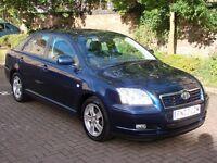 EXCELLENT AUTOMATIC !!2003 TOYOTA AVENSIS 1.8 VVT-i T3-X 5dr, LONG MOT, WARRANTY