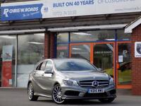 MERCEDES-BENZ A CLASS A180 CDi BLUEEFFICIENCY AMG SPORT 5dr (grey) 2015